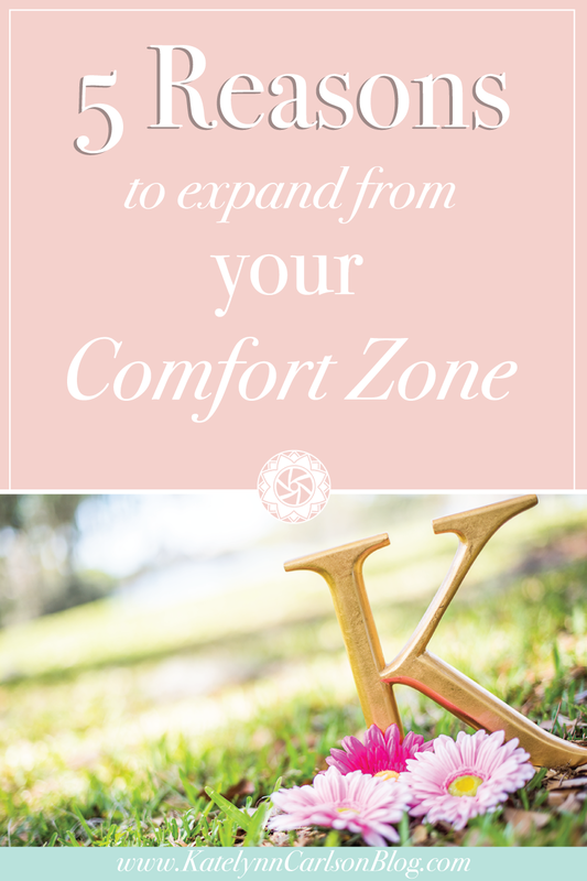 5 Reasons to expand from your Comfort Zone