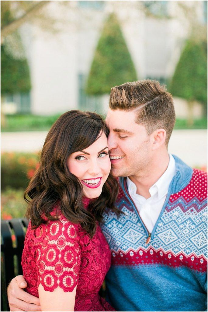 Katelynn Carlson Photography | Downtown Winter Garden Holiday Sweetheart Session