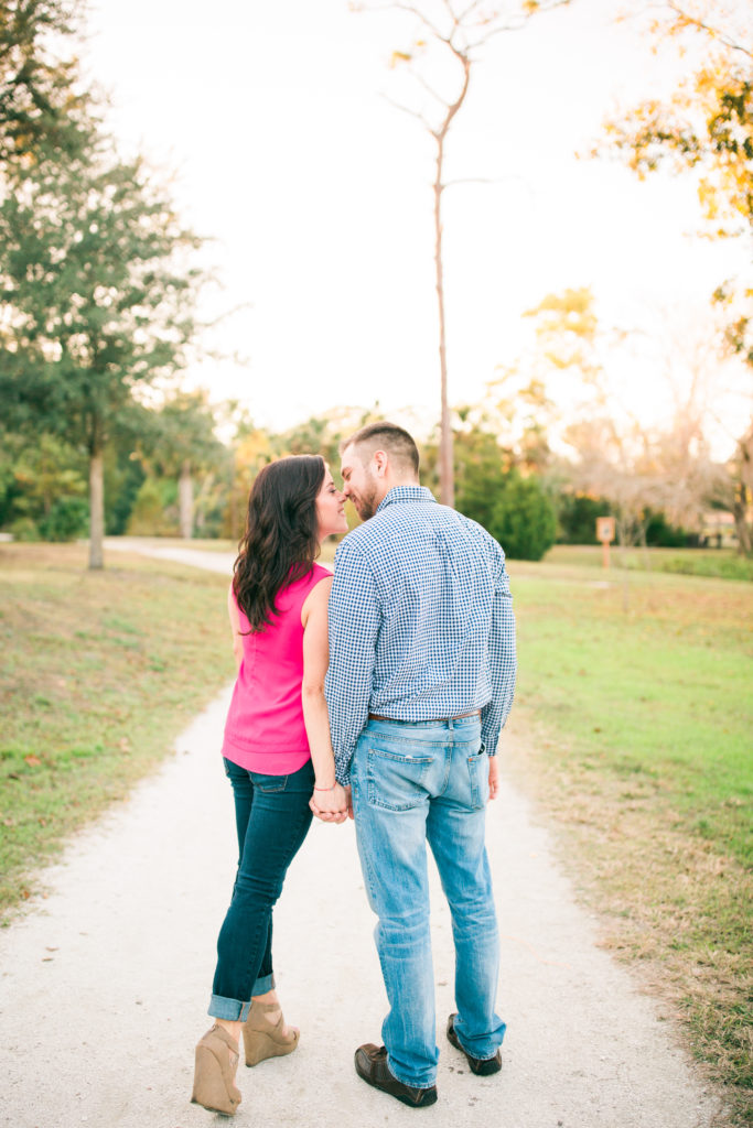 Francini & Brandon Mead Botanical Gardens Engagement Session | Katelynn Carlson Photography
